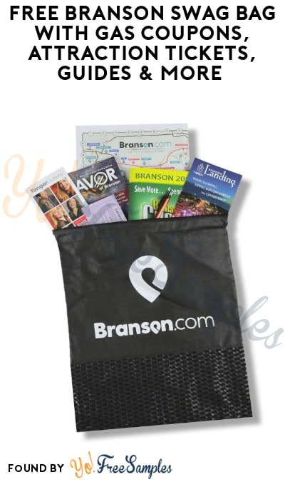 FREE Branson Swag Bag with Gas Coupons, Attraction Tickets, Guides & More (Redeem In Person)