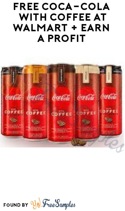 FREE Coca-Cola with Coffee at Walmart + Earn A Profit (Ibotta Required)