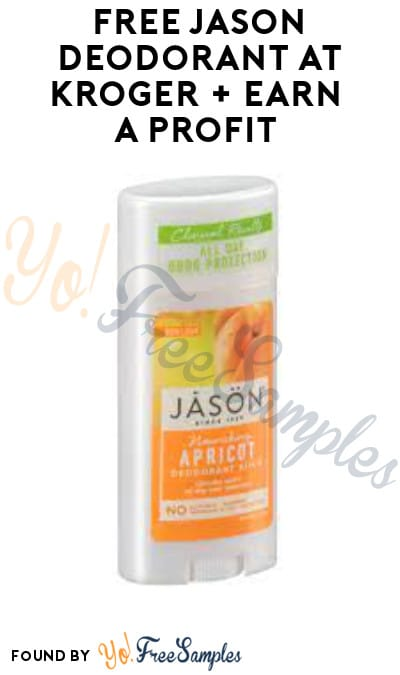 FREE Jason Deodorant at Kroger + Earn A Profit (Account/ Coupon & Ibotta Required)