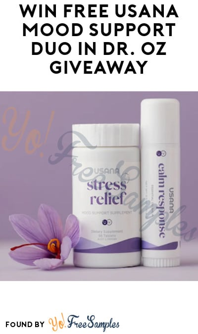 Win FREE USANA Mood Support Duo in Dr. Oz Giveaway