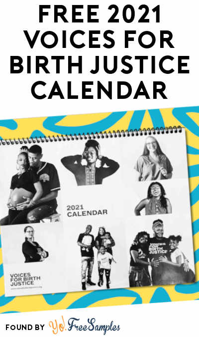 FREE 2021 Voices for Birth Justice Calendar