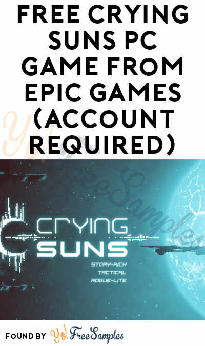 FREE Crying Suns PC Game From Epic Games (Account Required)