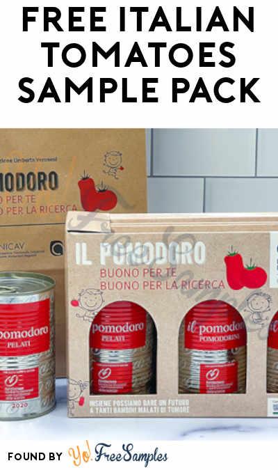 FREE Italian Tomatoes Sample Pack