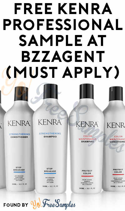 FREE Kenra Professional Sample At BzzAgent (Must Apply)