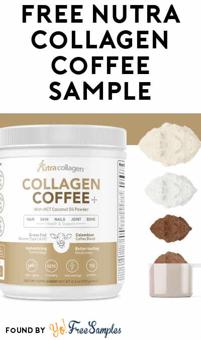 FREE NutraCollagen Coffee Sample