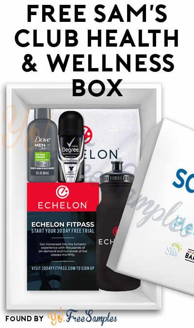 FREE Sam's Club Health & Wellness Box