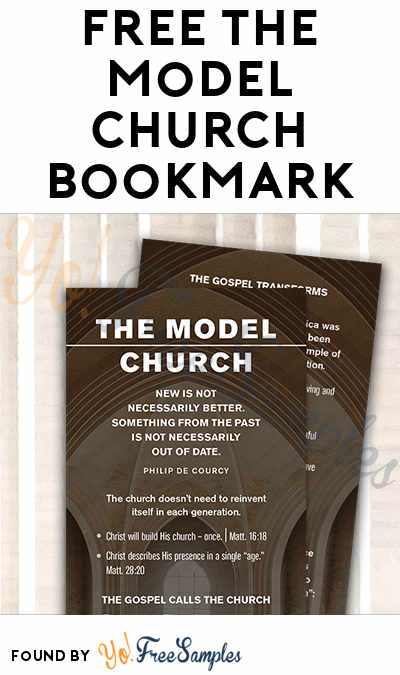 FREE The Model Church Bookmark