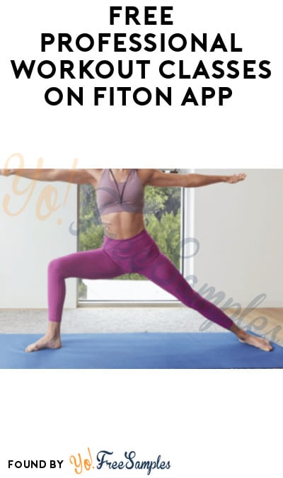 FREE Professional Workout Classes on FitOn App