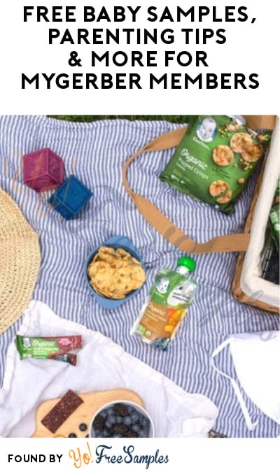 FREE Baby Samples, Parenting Tips & More for MyGerber Members (Signup Required)