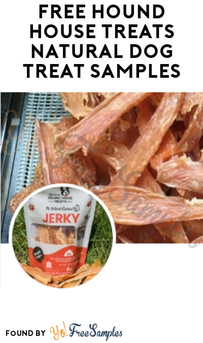 FREE Hound House Treats Natural Dog Treat Samples (Twitter Required)