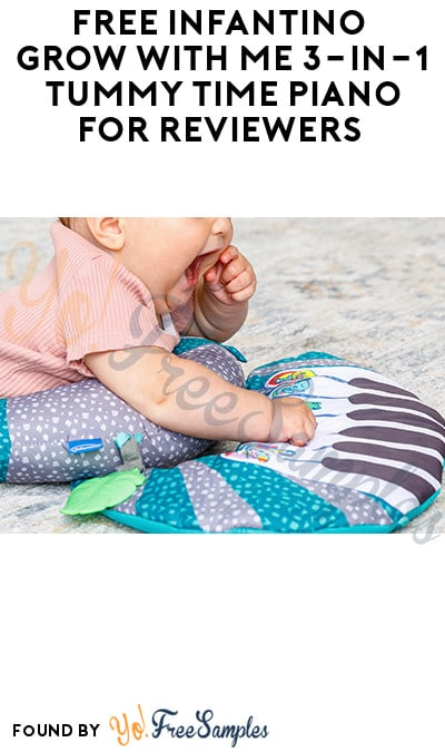 FREE Infantino Grow With Me 3-In-1 Tummy Time Piano for Reviewers (Must Apply)