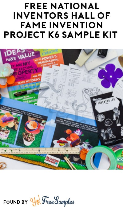 FREE National Inventors Hall of Fame Invention Project K6 Sample Kit (Educators/ Administrators Only)