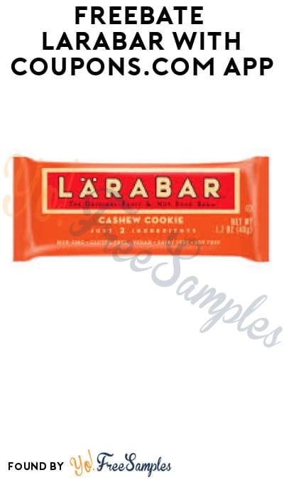 FREEBATE Larabar with Coupons App