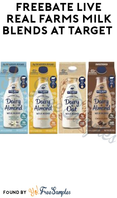 FREEBATE Live Real Farms Milk Blends at Target (Ibotta Required)