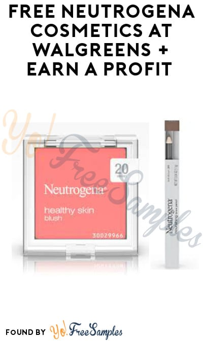 FREE Neutrogena Cosmetics at Walgreens + Earn A Profit (Rewards Card & Rebate Required + Online Only)