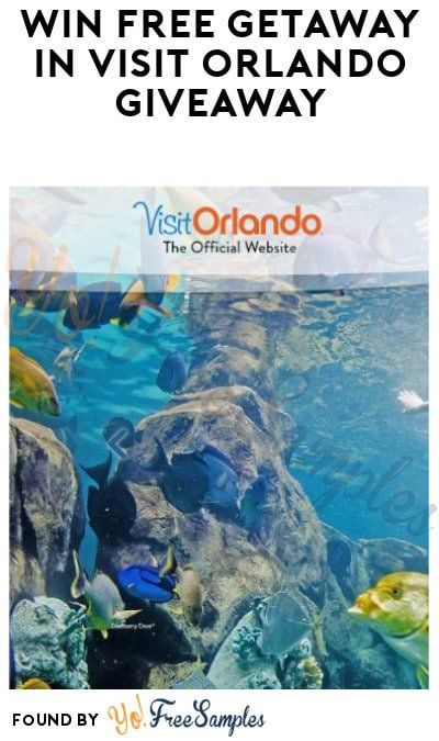 Win FREE Getaway in Visit Orlando Giveaway (Ages 21 & Older Only)