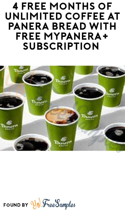4 FREE Months of Unlimited Coffee at Panera Bread with FREE MyPanera+ Subscription (Apple Pay Required)