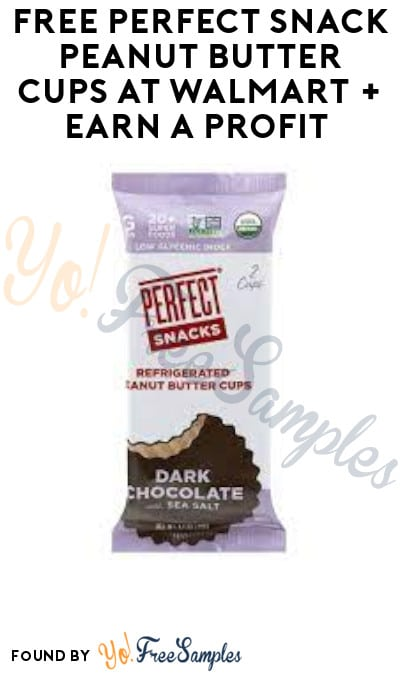 FREE Perfect Snack Peanut Butter Cups at Walmart + Earn A Profit (Ibotta Required)