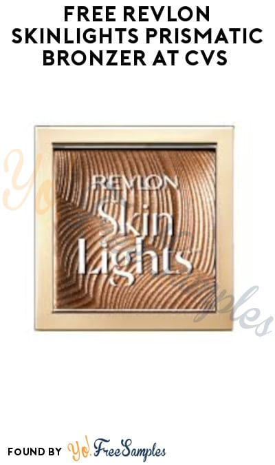 FREE Revlon SkinLights Prismatic Bronzer at CVS + Earn A Profit (Coupon + Account/ App Required)