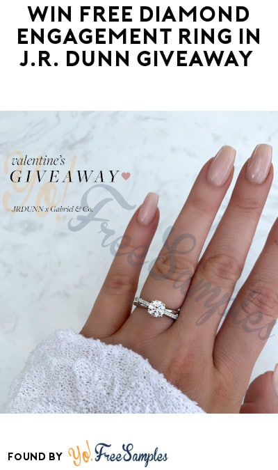 Win FREE Diamond Engagement Ring in J.R. Dunn Giveaway (Instagram Required)