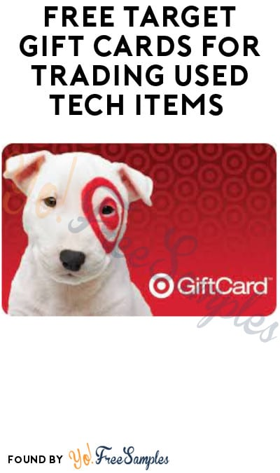 FREE Target Gift Cards for Trading Used Tech Items