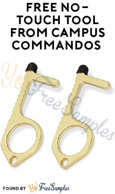 FREE No-Touch Tool from Campus Commandos