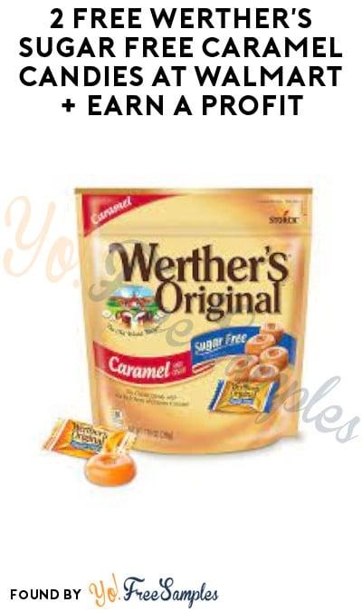 2 FREE Werther's Sugar Free Caramel Candies at Walmart + Earn A Profit (Swagbucks Required)