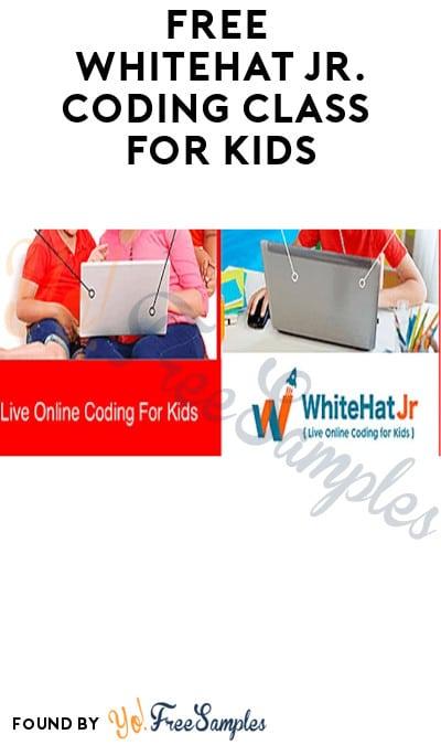FREE WhiteHat Jr. Coding Class for Kids (Must Register)