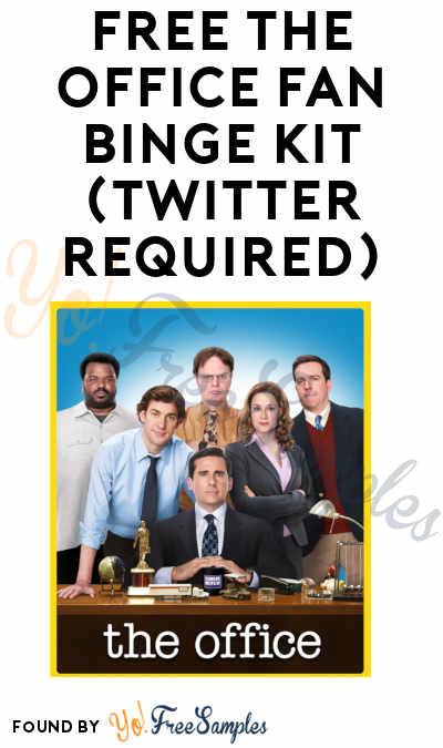 Possible FREE The Office Fan Binge Kit (Twitter Required)