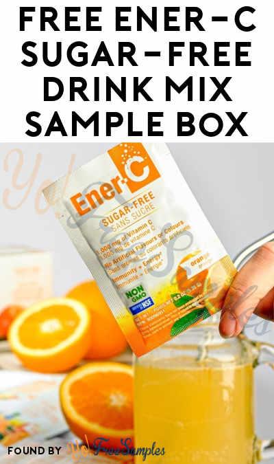 FREE Ener-C Sugar-Free Drink Mix Sample Box