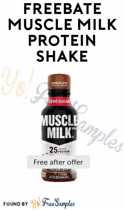 FREEBATE Muscle Milk Protein Shake (Ibotta Required)