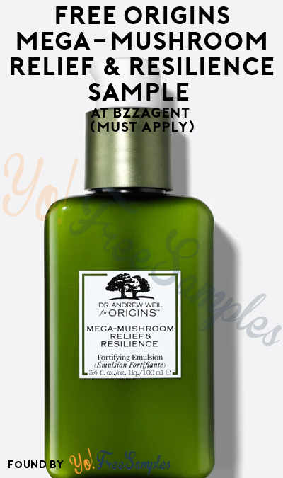 FREE Origins Mega-Mushroom Relief & Resilience Sample At BzzAgent (Must Apply)