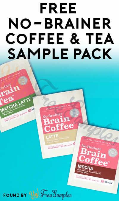 FREE No-Brainer Coffee & Tea Sample Pack