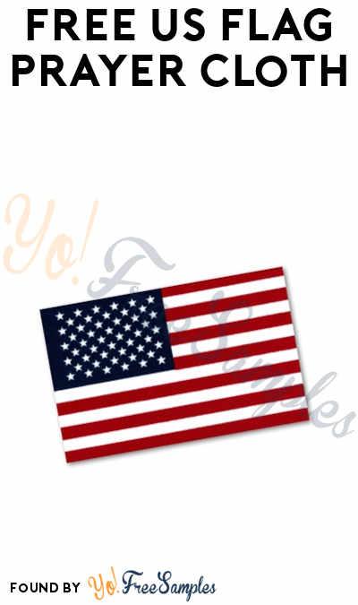 FREE US Flag Prayer Cloth
