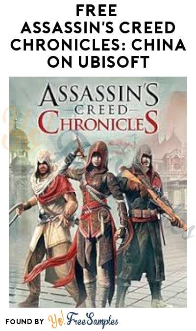 FREE Assassin's Creed Chronicles: China on Ubisoft