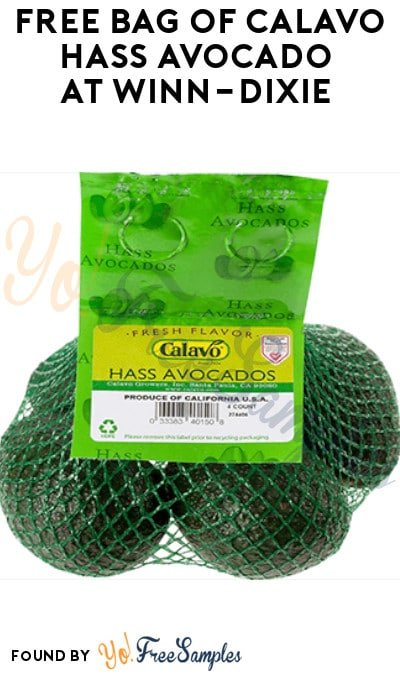 FREE Bag of Calavo Hass Avocado at Winn-Dixie (Account/ Coupon Required)