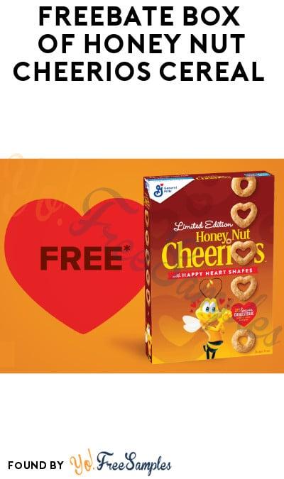 FREEBATE Box of Honey Nut Cheerios Cereal