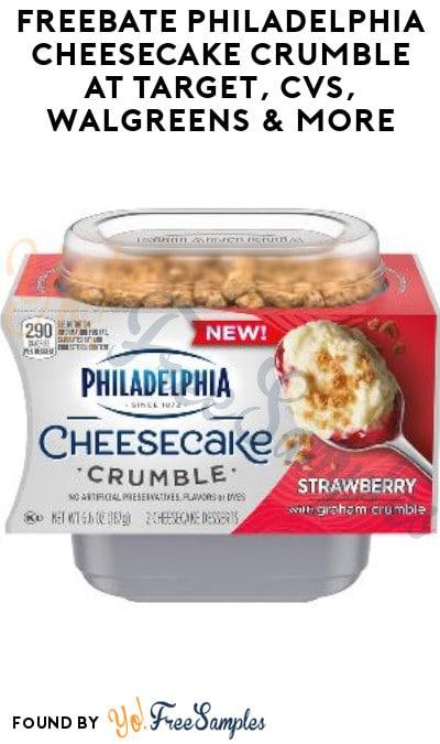 FREEBATE Philadelphia Cheesecake Crumble at Target, CVS, Walgreens & More (Ibotta Required)