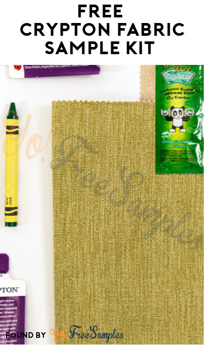 FREE Crypton Fabric Sample Kit (Company Name Required)