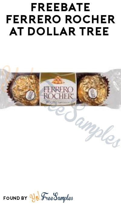 FREEBATE Ferrero Rocher at Dollar Tree (Checkout51 Required)