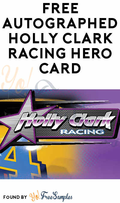 FREE Autographed Holly Clark Racing Hero Card