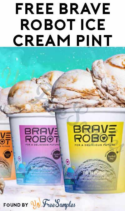 FREE Brave Robot Ice Cream Pint
