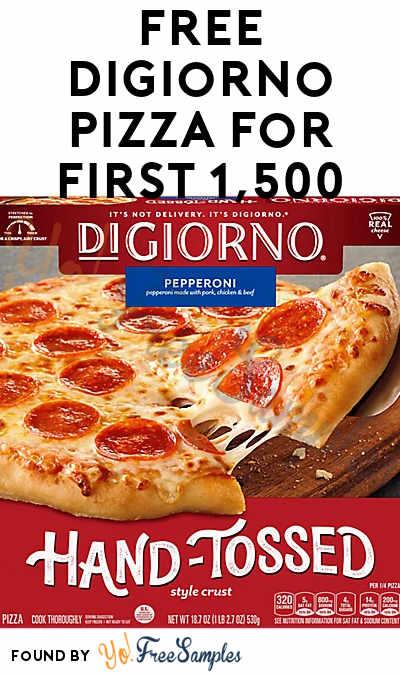 FREE DiGiorno Pizza For First 1,500