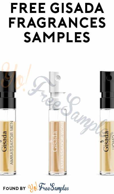 FREE Gisada Fragrances Samples