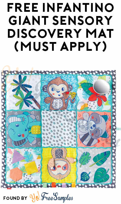 FREE Infantino Giant Sensory Discovery Mat (Must Apply)