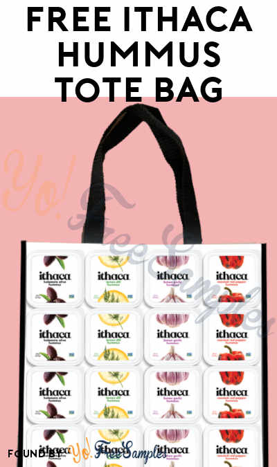 FREE Ithaca Hummus Tote Bag (Review Required)
