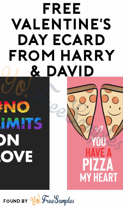 FREE Valentine's Day eCard from Harry & David