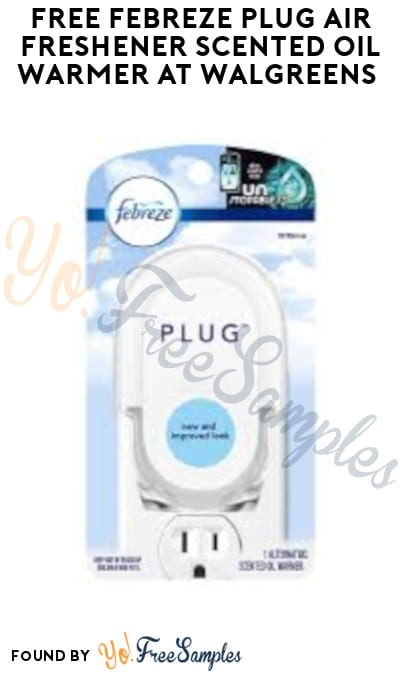 FREE Febreze Plug Air Freshener Scented Oil Warmer at Walgreens (Account Required + Online Only)