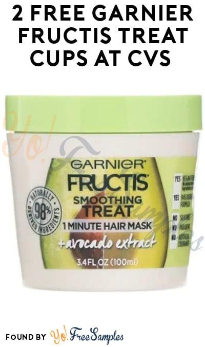 2 FREE Garnier Fructis Treat Masks at CVS (App & Coupons Required)