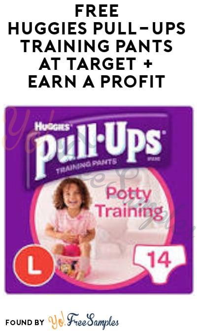 FREE Huggies Pull-Ups Training Pants at Target + Earn A Profit (Target Circle, Ibotta & Fetch Rewards Required)